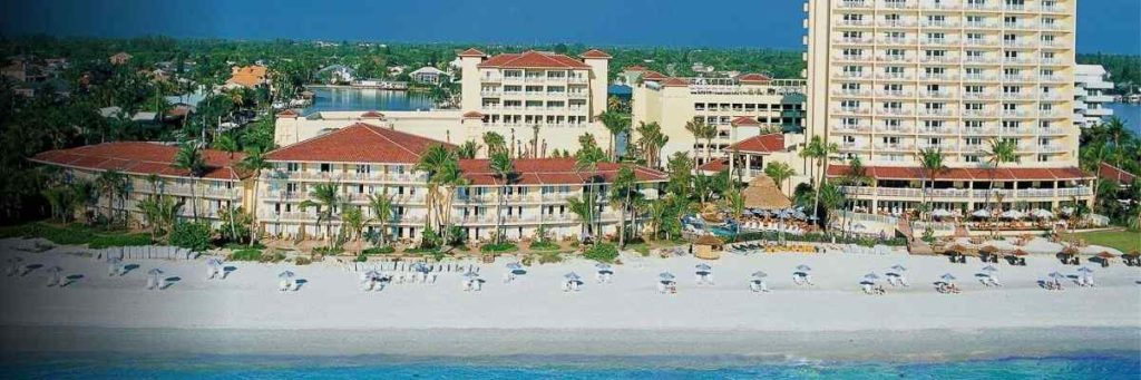white sand beach Laplaya Resort