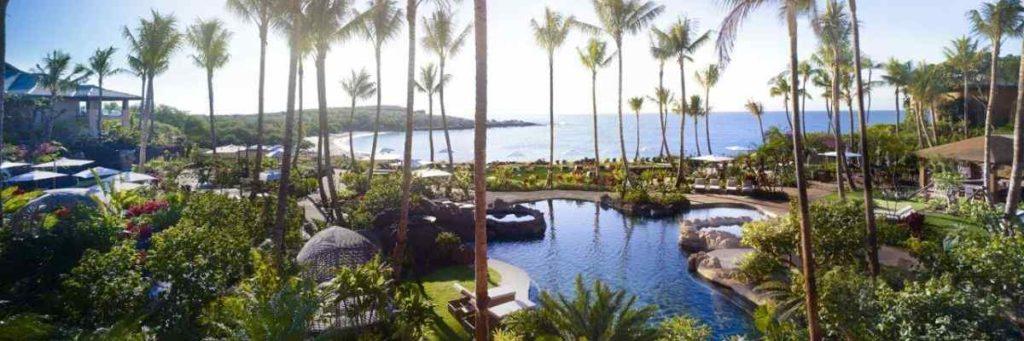 lanai beach resort view
