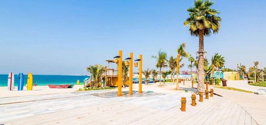 La Mer beach white sand