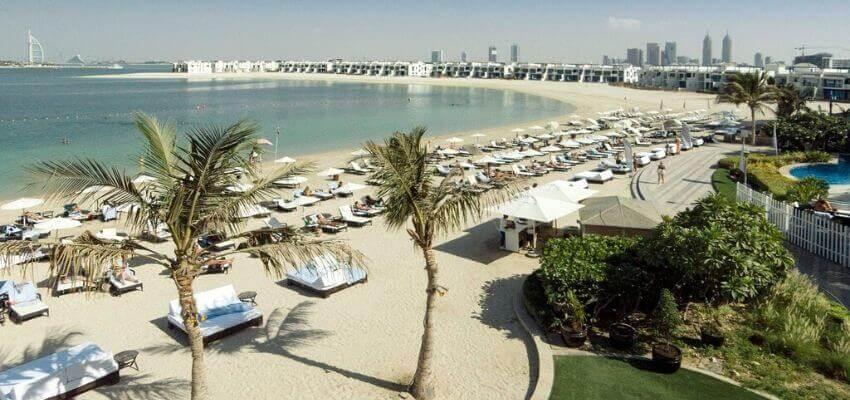 Riva Beach club dubai private beach