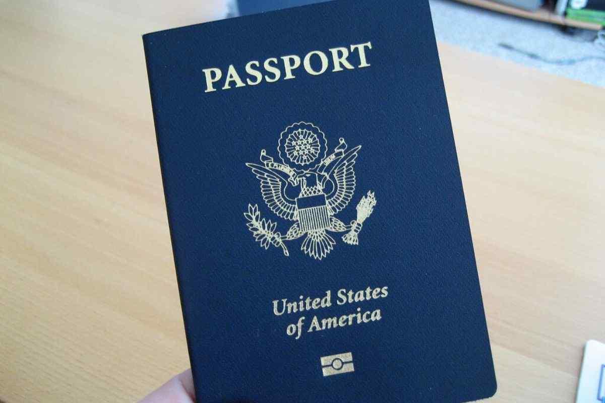 My Passport Book United States