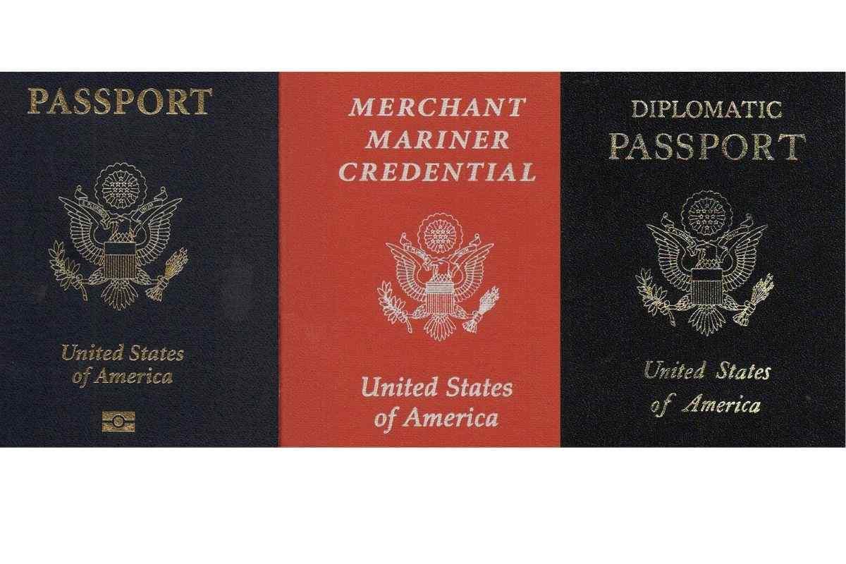 Passport types US Passport Books