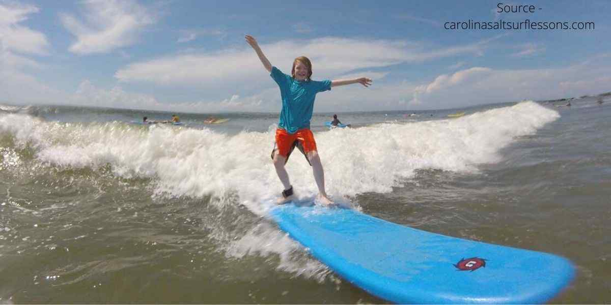 Beaches In South Carolina Sufing lessons